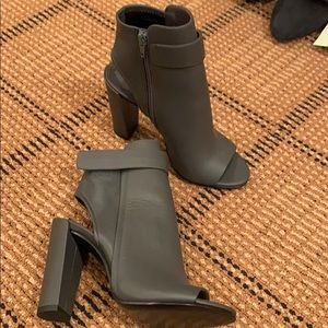 New Vince open toe booties